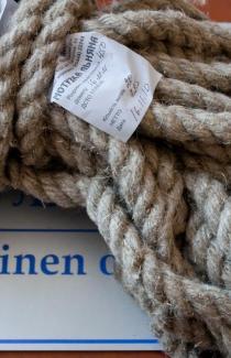 Льняной шнур 16 мм толщины (м.пог)