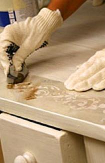 Реставрация старинных деревянных изделий