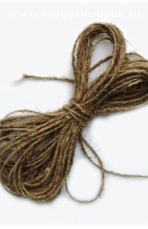 Льняной шнур 10 мм толщины (м.пог)