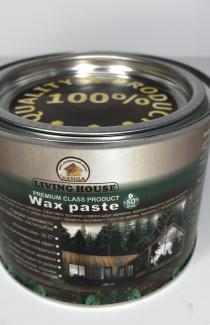 Воск паста осветленная для дерева и пола 0.5 л