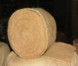 Рулон льняно-джутового межвенцового утеплителя