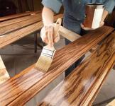 Нанесение воска и воскование деревянных поверхностей