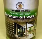 Террасное масло с пчелиным воск 1 л (жесть)