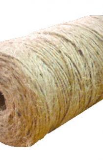 Льняной шнур 14 мм толщины (м.пог)