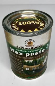 Віск паста освітлена для дерева і полу 1л