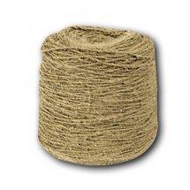 Льняной шнур 12 мм толщины (м.пог)