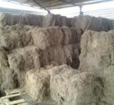 Пакля (льоноволокно довге очищене) 1тюк 70кг