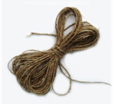 Лляний шнур 10 мм товщини (м.пог)